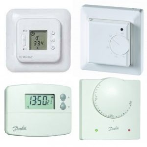 230v Display & Programmable Thermostats
